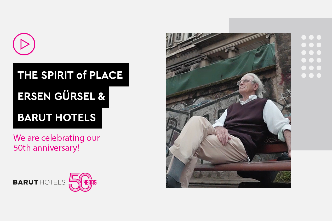 50th Anniversary Interview with Famous architecture Ersen Gürsel