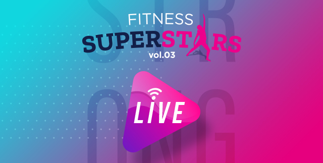 Fitness Super Stars Live @ Instagram
